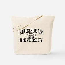 KnuckleDuster University Tote Bag