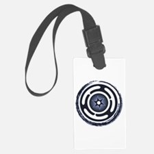 Blue Hecate's Wheel Luggage Tag