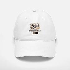 Shepadoodle Dog Dad Baseball Baseball Cap