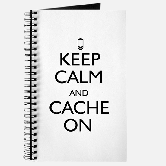 Keep Calm and Cache On Journal