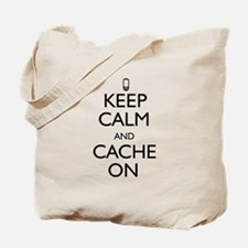 Keep Calm and Cache On Tote Bag