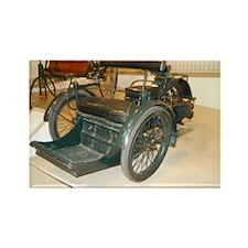 1898 Tri-Car Rectangle Magnet