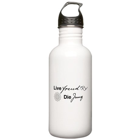 Live Freud, Die Jung Stainless Water Bottle 1.0L