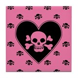 Skull and crossbones Drink Coasters