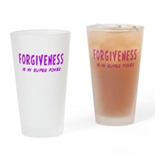 Super Power: Forgiveness Drinking Glass
