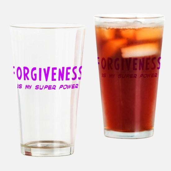 Super Power: Forgiveness Drinking Glass