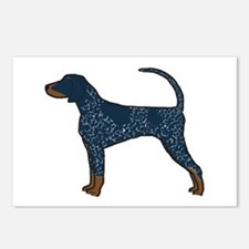 Blue Tick Coonhound Postcards (Package of 8)