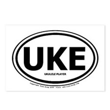 Unique Ukelele Postcards (Package of 8)