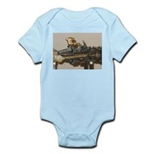 Steam Car Engine Infant Bodysuit