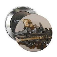 """Steam Car Engine 2.25"""" Button"""