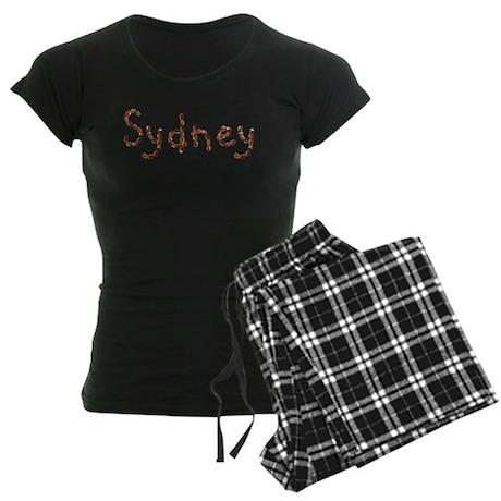 Sydney Coffee Beans Women's Dark Pajamas