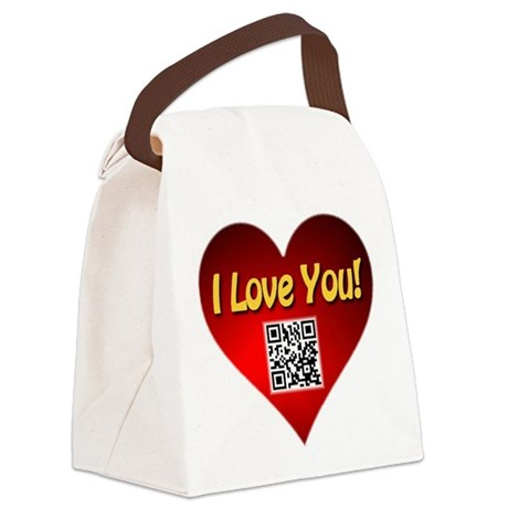 Put Me Inside Your Phone Canvas Lunch Bag