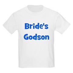 Brides's Godson (blue) Kids T-Shirt
