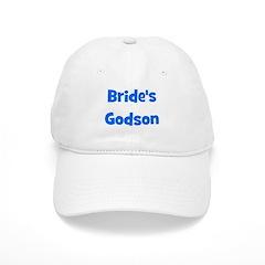 Brides's Godson (blue) Baseball Cap