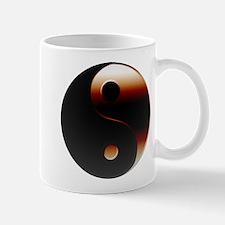 Metallic Yin-Yang Symbol Mug