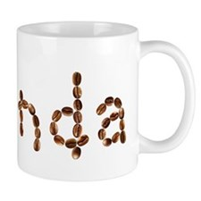 Rhonda Coffee Beans Mug