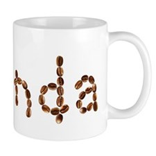 Rhonda Coffee Beans Small Mug