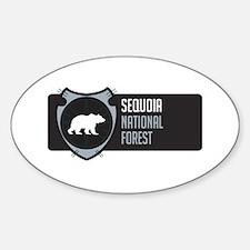 Sequoia Arrowhead Badge Decal