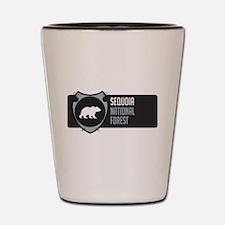 Sequoia Arrowhead Badge Shot Glass