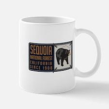 Sequoia Black Bear Badge Mug