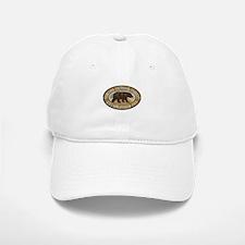 Sequoia Brown Bear Badge Baseball Baseball Cap