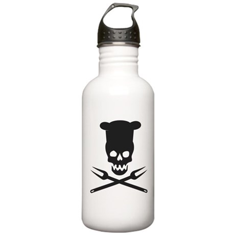 barbecue Stainless Water Bottle 1.0L
