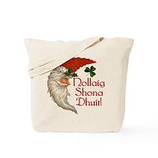 Merry Christmas (irish Gaelic) Tote Bag
