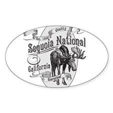 Sequoia Vintage Moose Decal