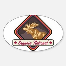 Sequoia Pop-Moose Patch Decal