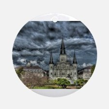 Jackson Square, New Orleans Ornament (Round)