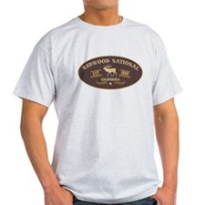 Redwood Belt Buckle Badge T-Shirt