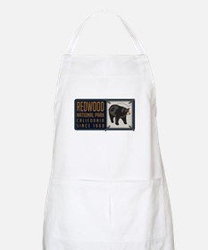 Redwood Black Bear Badge Apron