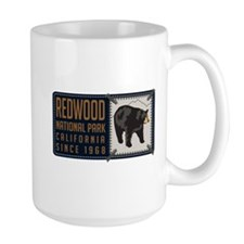 Redwood Black Bear Badge Mug