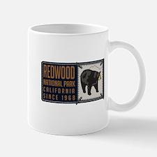 Redwood Black Bear Badge Mug
