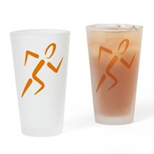 runner Drinking Glass