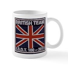 British Team ISDT badge replica 2013 Mug