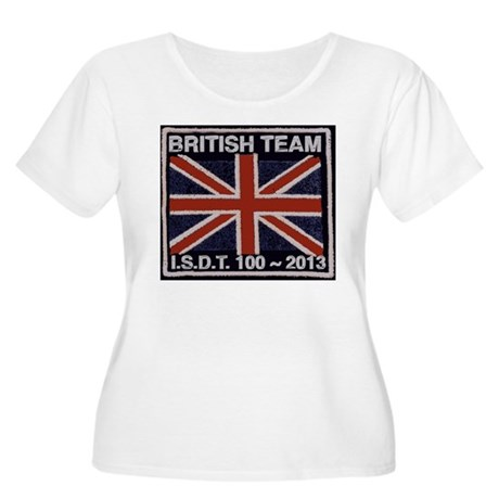 British Team ISDT badge replica 2013 Women's Plus