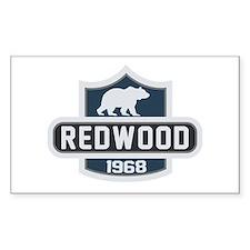 Redwood Nature Badge Decal