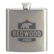 Redwood Nature Badge Flask