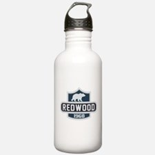 Redwood Nature Badge Water Bottle