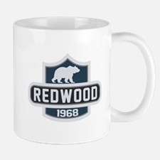 Redwood Nature Badge Mug