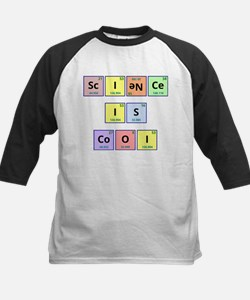 Science is Cool Kids Baseball Jersey