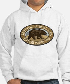 Redwood Brown Bear Badge Hoodie