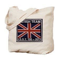 British Team ISDT badge replica 2013 Tote Bag