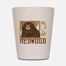 Redwood Grumpy Grizzly Shot Glass