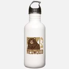 Redwood Grumpy Grizzly Water Bottle