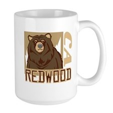 Redwood Grumpy Grizzly Mug