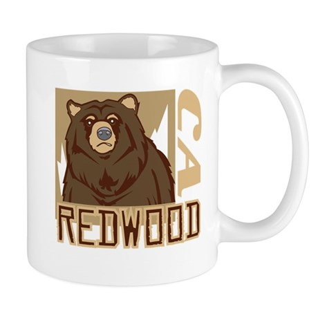 Redwood Grumpy Grizzly Mug