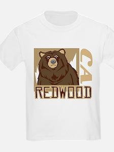 Redwood Grumpy Grizzly T-Shirt