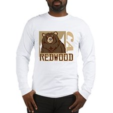 Redwood Grumpy Grizzly Long Sleeve T-Shirt